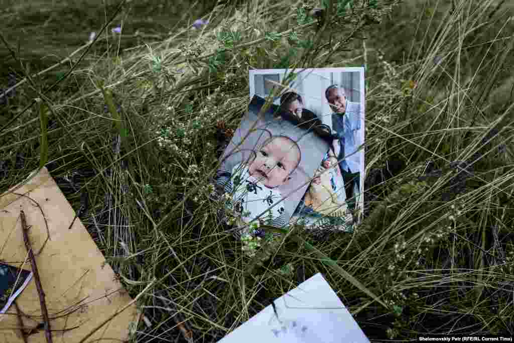 Pictures found among the victims' belongings