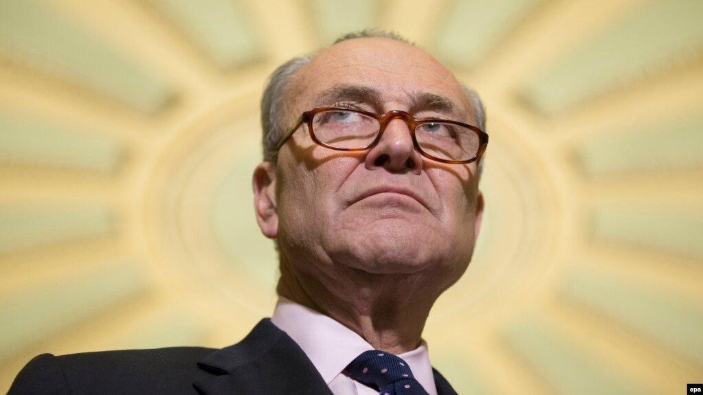 "Democrat Senator Chuck Schumer has hailed the new sanctions bill as ""strong."" (file photo)"