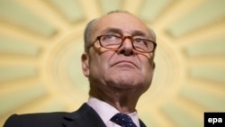 "Democrat Senator Chuck Schumer has hailed the new sanctions bill as ""strong."" (file photo)"