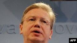 Комиссар ЕС по вопросам расширения Штефан Фюле