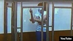 Надежда Савченко в суде, 9 марта