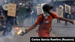 Баш калаа Каракастагы май айындагы нааразылык акциясы