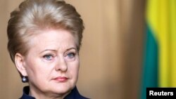 "Lithuania's President Dalia Grybauskaite said the government of President Viktor Yanukovych had ""lost credibility with the EU"" when it refused to sign the Association Agreement at a summit in Vilnius."