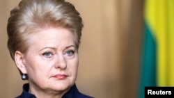 Lithuanian President Dalia Grybauskaite will now likely face Zigmantas Balcytis of the center-left social democrats in a runoff to be held along with European Parliament elections on May 25.