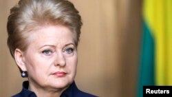 Președinta Dalia Grybauskaite