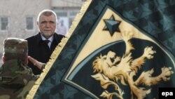Prishtinë, 8 janar 2010 - Stipe Mesiq para Forcave të Sigurisë së Kosovës