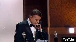 Леонид Парфенов на церемонии вручения премии имени Владислава Листьева