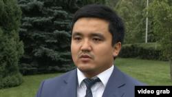 Руководитель управления туризма и внешних связей города Алматы Максат Кикимов. 17 августа 2018 года.