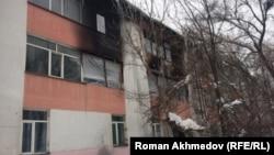Корпус детского дома № 1, где произошел пожар. Алматы, 23 ноября 2016 года.