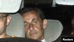 Keçmiş prezident Nicolas Sarkozy.