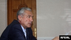 Tajikistan - Amonullo Ashur, Chair of Antimonopoly Agency of Tajikistan, Dushanbe, 27May2010