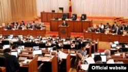 Сессия парламента Кыргызстана. Иллюстративное фото.