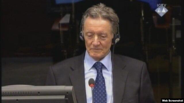 Dragomir Milošević svjedoči na suđenju Karadžiću, 22. siječanj 2013.