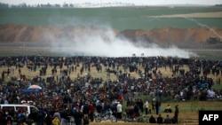 Protesta në Gaza, 30 mars, 2018