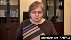 Armenia - Constitutional Court judge Alvina Gyulumian is interviewed by RFE/RL, Yerevan, November 15, 2019