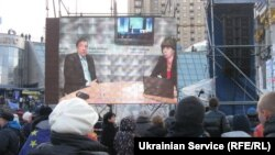 Ukrainian Service live stream at Euromaidan (Nov 29)