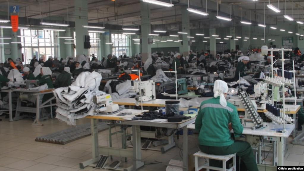 Швейное производство в колонии №14 в Мордовии