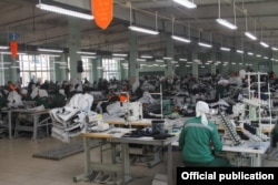 Prison IK-14's sewing shop has a reputation for terrible working conditions. (file photo)