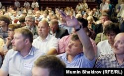 Голосування на з'їзді «ПАРНАСу»