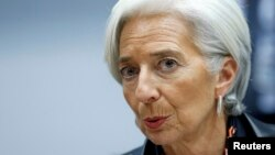 Халықаралық валюта қорының басшысы Кристин Лагард.