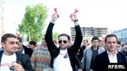 Столкновение между полицией и сторонниками оппозиции, Тбилиси, 6 мая 2010 г.