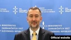 بوریس گاندل، سخنگوی وزارت خارجه اسلواکی