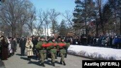 Дальнереченски паркында үлгән солдатларны искә алу тантанасы, 2011 ел