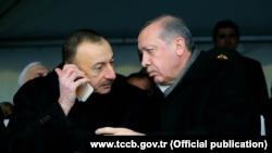 Azerbaijan. Baku. Azerbaijan Georgian and Turkish presidents meet in Kars, Turkey - www.tccb.gov.tr