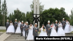 October 30: Annual mass wedding ceremony takes place in Bishkek, Kyrgyzstan.
