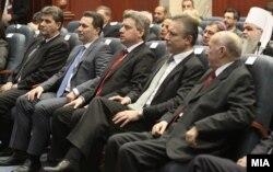 Од свечената седница по повод 20 години од Уставот