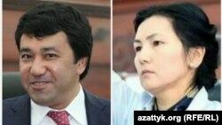Фархат Иминов и Аида Салянова.