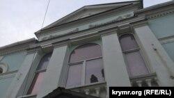 Будівля Меджлісу, Сімферополь, 4 червня 2015