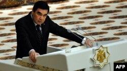Türkmenistanyň prezidenti Gurbanguly Berdimuhamedow.