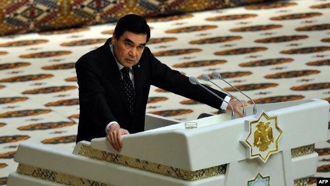 Президент Туркменистана Гурбангулы Бердымухамедов. Ашгабат, 14 сентября 2017 года.