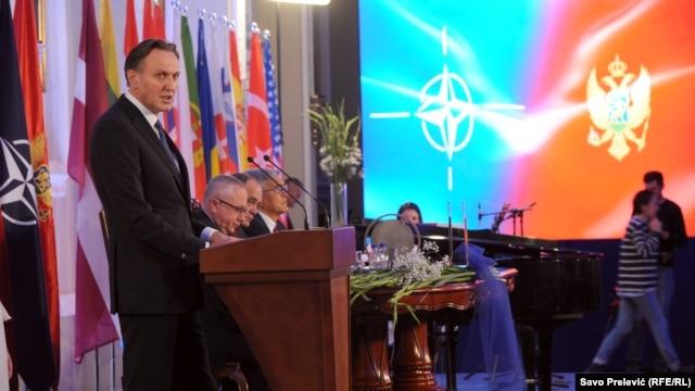 Торжественное совместное заседание парламента Черногории и парламентской ассамблеи НАТО