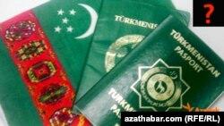 Türkmenistanyň pasporty.
