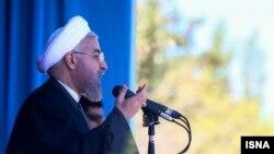 سخنرانی حسن روحانی. ۲۲ بهمن ۹۳