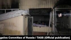 Место взрыва газа в Саратове