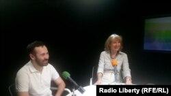 Илья Пономарев и Елена Рыковцева
