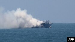 Brod ispred pojasa Gaze