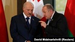 Александр Лукашенко и Георгий Маргвелашвили