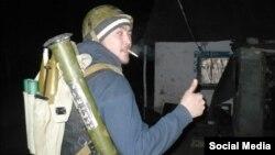 Рустам из Татарстана, воюющий на стороне сепаратистов в Восточной Украине.