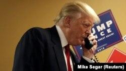 Presidenti i zgjedhur amerikan, Donald Trump
