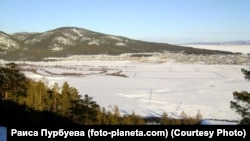 Зима в Хоринском районе Бурятии