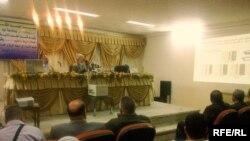 جانب من ندوة جامعة الموصل