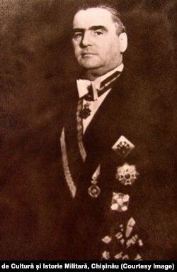 Moldova, Daniei Ciugureanu (1885-1950) Foto: Centrul de Cultură și Istorie Militară, Chișinău