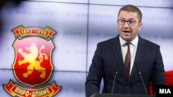 Претседателот на ВМРО-ДПМНЕ Христијан Мицкоски