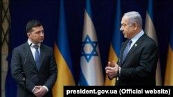 Зеленський зустрівся з Нетаньягу