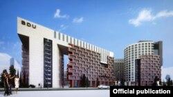 BDU-nun yeni kampusunun layihəsi