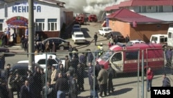 «Çerkizov» bazarında ötən ilin yayında bir neçə dəfə iri yanğın törədilib